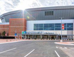 Intrust Bank Arena Entrance C Wichita KS Commercial Construction 1