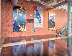 Intrust Bank Arena Entrance C Wichita KS Commercial Construction 2