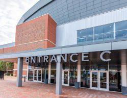 Intrust Bank Arena Entrance C Wichita KS Commercial Construction 3