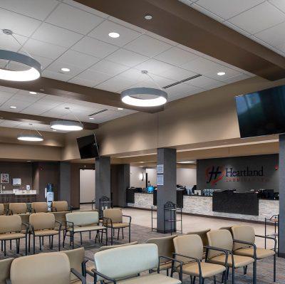 Heartland Cardiology Wichita KS Commercial Construction 1