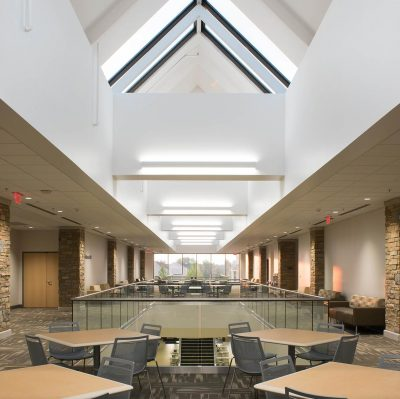 TU Allen Chapman Student Union 2nd Floor Renovation Univeristy Of Tulsa OK Commercial Construction 4
