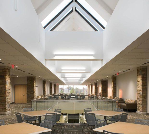TU Allen Chapman Student Union 2nd Floor Renovation Univeristy Of Tulsa OK Commercial Construction 4
