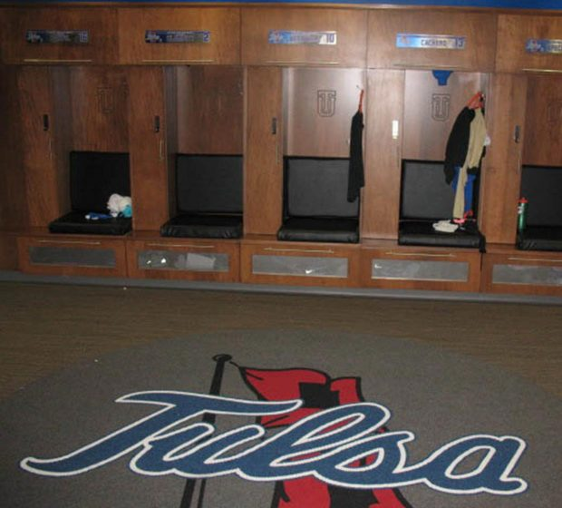 TU Women's Locker Room Renovations Univeristy Of Tulsa OK Commercial Construction 1