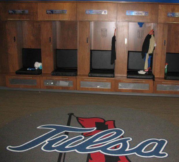 TU Women's Locker Room Renovations Univeristy Of Tulsa OK Commercial Construction 1