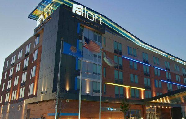 Aloft Hotel Tulsa OK Commercial Construction 1