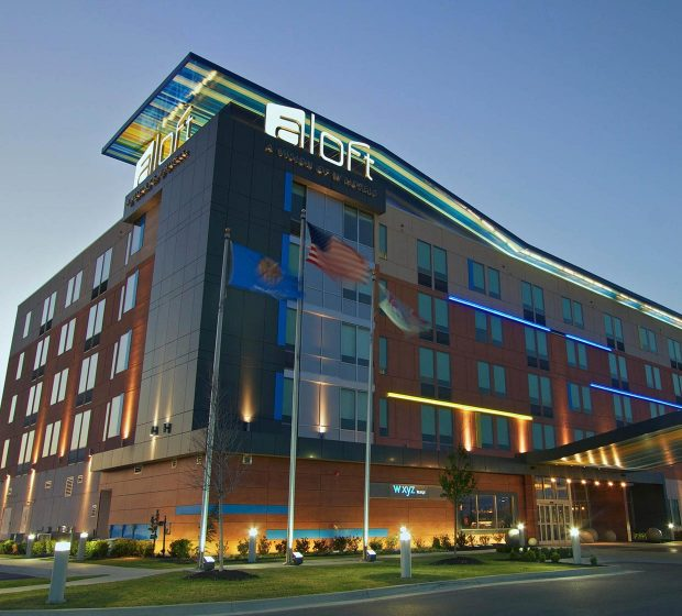 Aloft Hotel Tulsa OK Commercial Construction 1