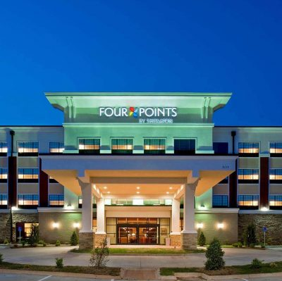 Four Points Sheraton Oklahoma City OK Commercial Construction 1