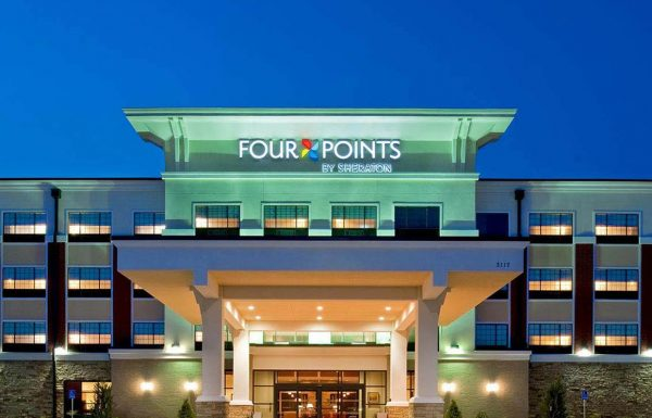 Four Points Sheraton Oklahoma City OK Commercial Construction 1