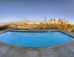 The Beat Condos Exterior Living Amenities Dallas TX Commercial Construction 1