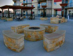 The Beat Condos Exterior Living Amenities Dallas TX Commercial Construction 2