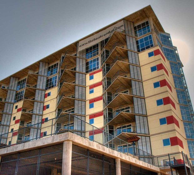 The Beat Condos Exterior Building Dallas TX Commercial Construction 8