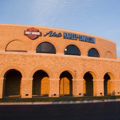 Alefs Harley Davidson Wichita KS Commercial Construction 1