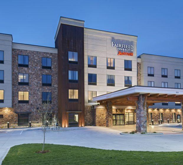 Fairfield Inn Exterior Commercial Construction 4