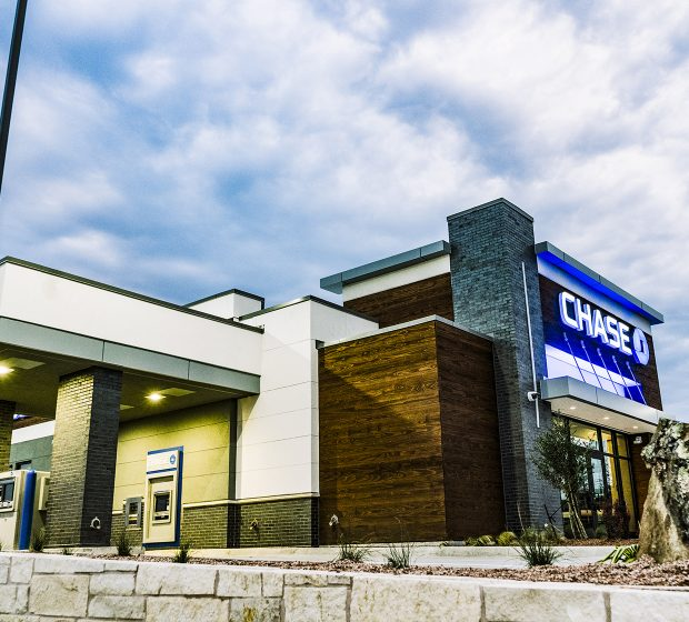 Chase Bank JP Morgan Commercial Construction