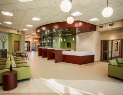 Parkside Psychiatric Hospital Commercial Construction Lobby
