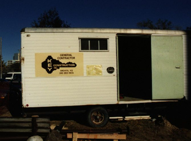 1978 3 Old Job Trailer