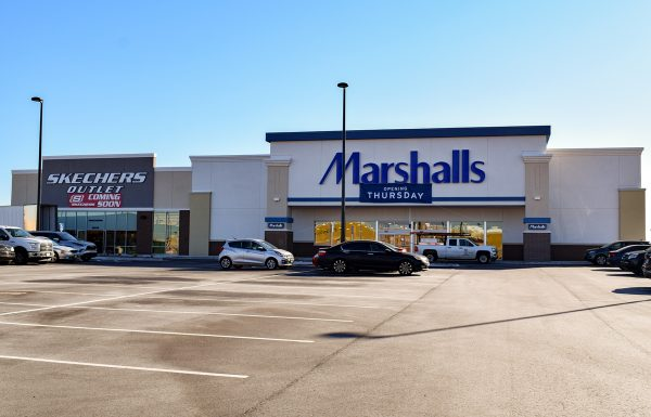 Marshalls Skechers Key Construction Commerical Construction 1