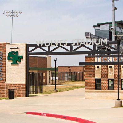 Santa Fe High School Fieldhouse And Classrooms Edmond OK Commercial Construction 1