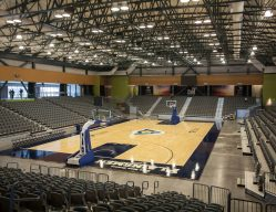 Interior, Enid Event Center, Installation Photos